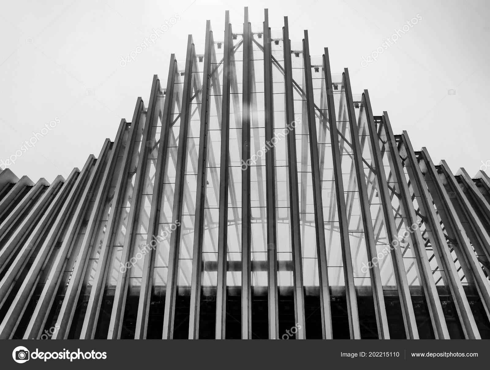 Reggio Emilia Itálie Může 2018 Architektonický Detail Mediopadana