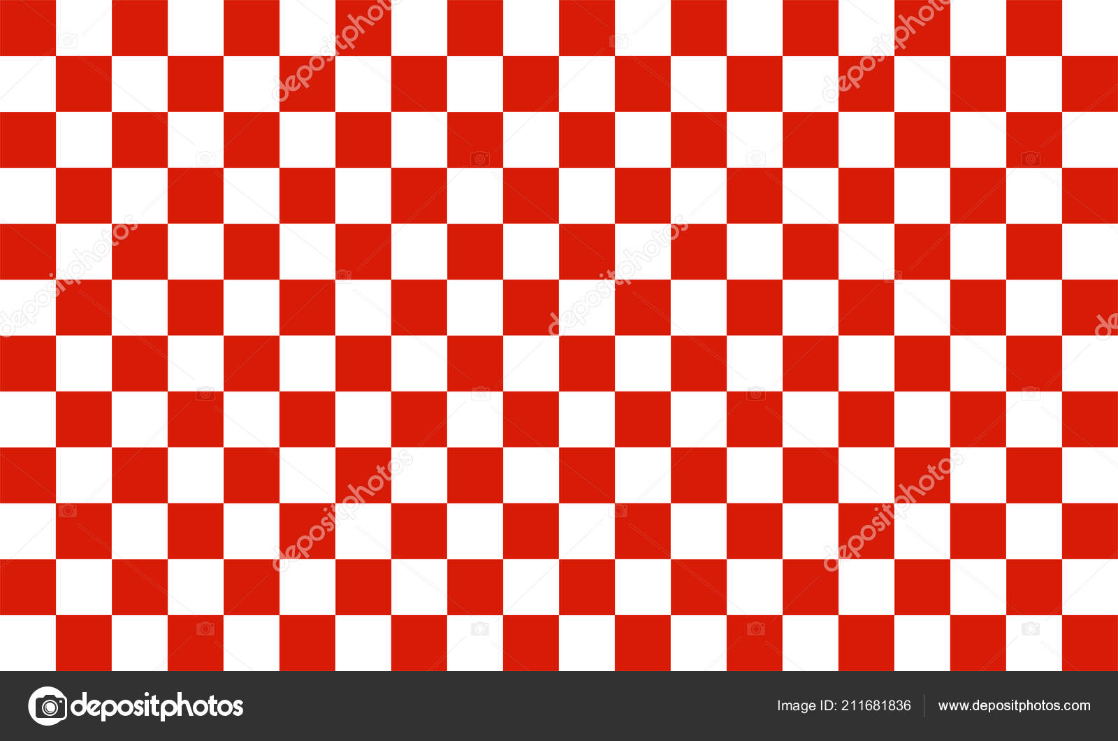 Background: red and white checkered | Red White Checkered