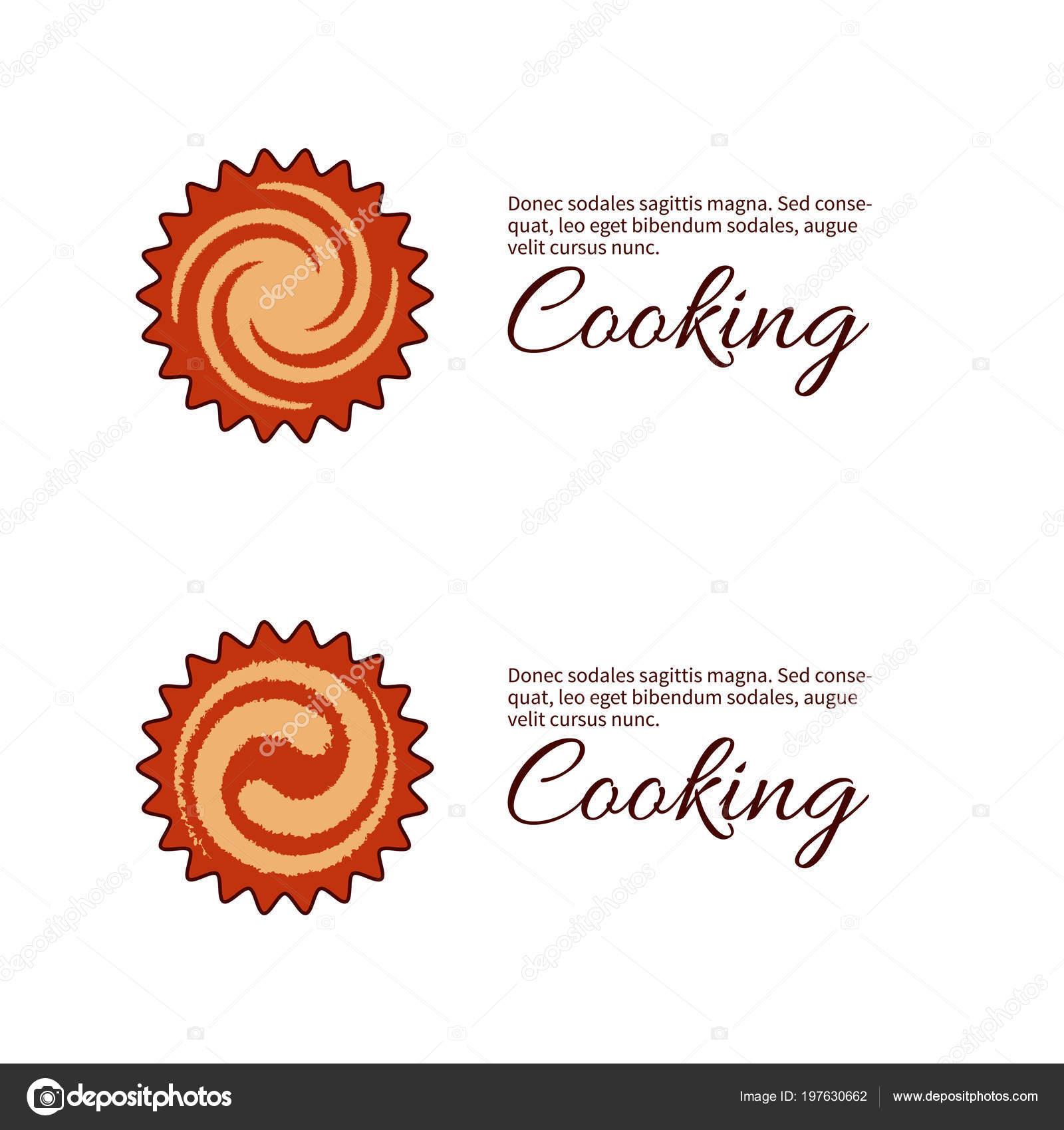 Logo Per Cucina Pasticceria Vettoriali Stock C Tanyalmera 197630662