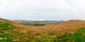 Panoramabild der typischen irischen Landschaft