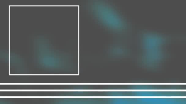 Színes puha absztrakt animációs háttér. Tervezés különböző videó montázs, vonalak, keretek mozgás a képernyőn