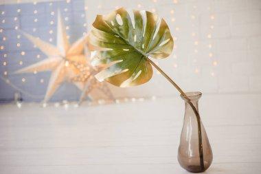 Vase Plant decoration exterior - Vintage Film filter