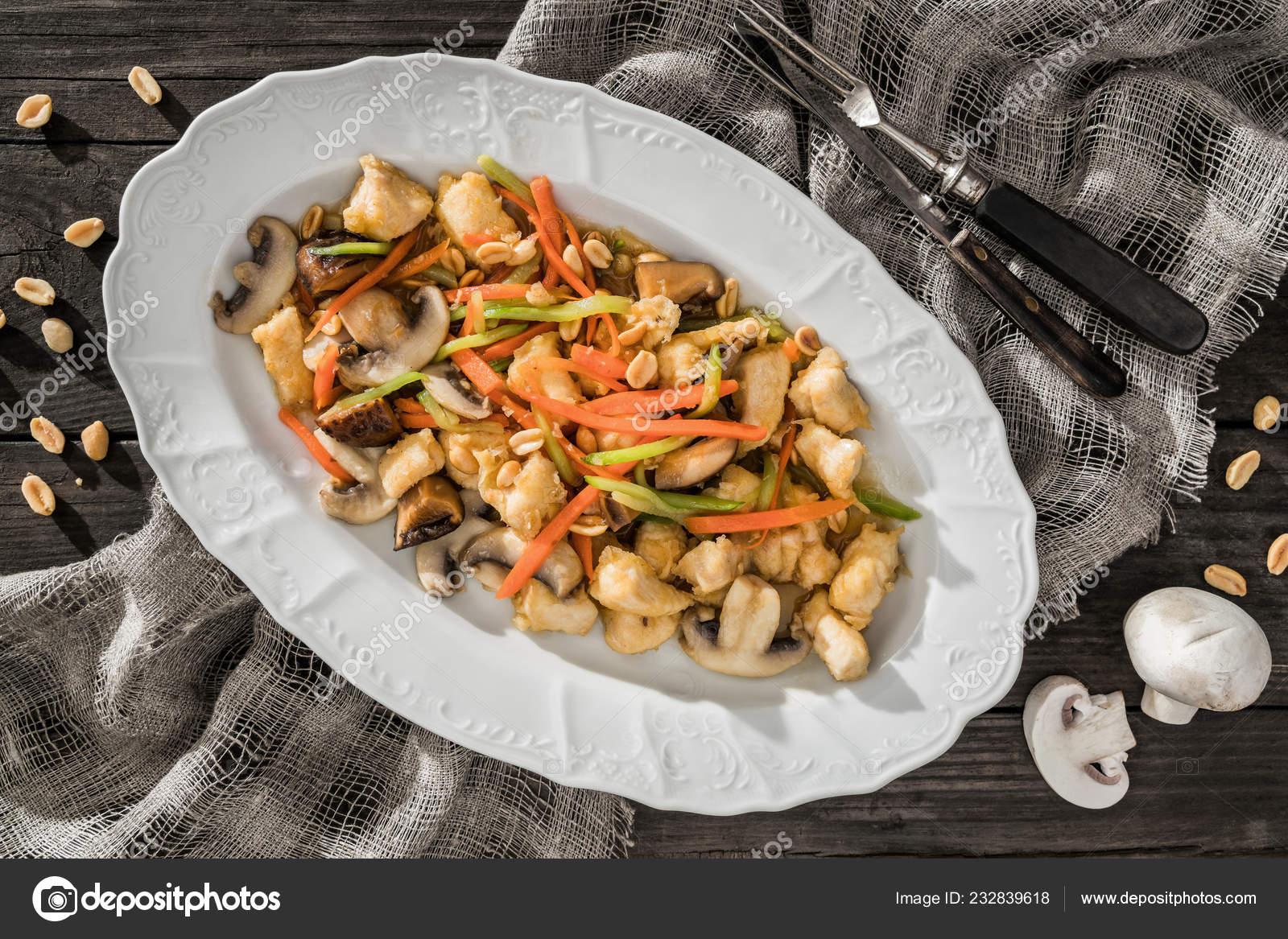 Christmas Meat Dishes.Christmas Meat Dishes Grilled Vegetables Nuts Mushrooms