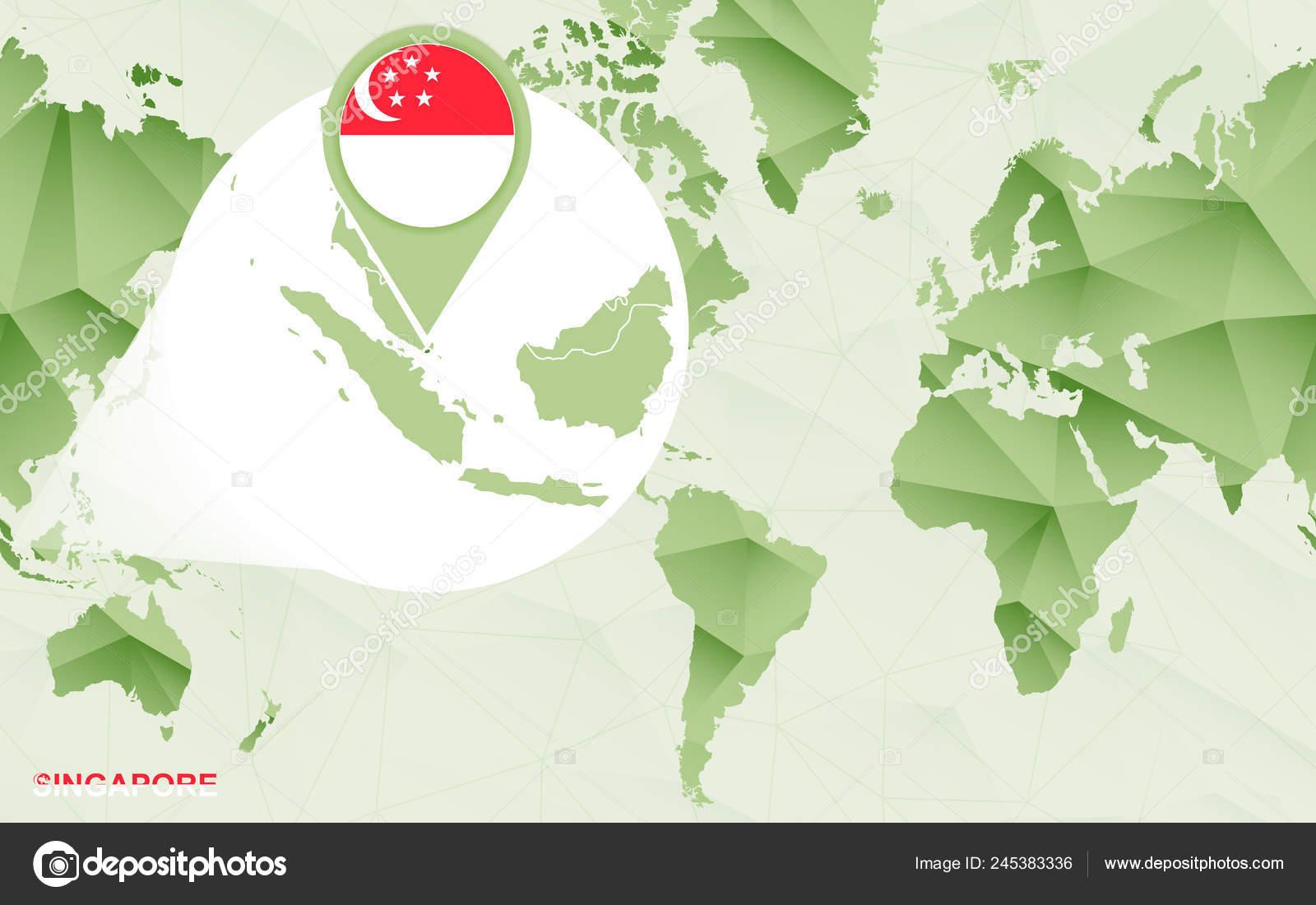 America centric world map | America Centric World Map ...