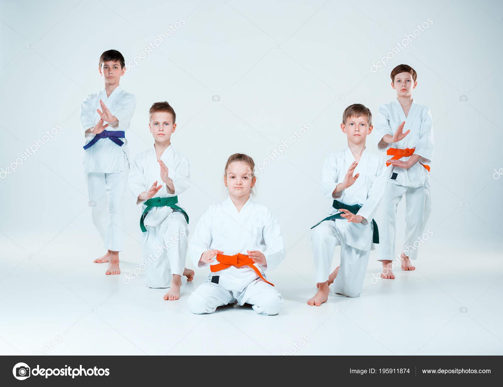 фото айкидо дети