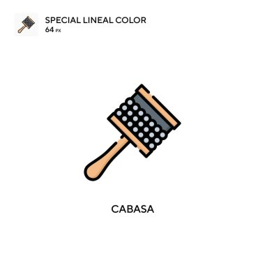 Cabasa Special lineal color icon. Illustration symbol design template for web mobile UI element.