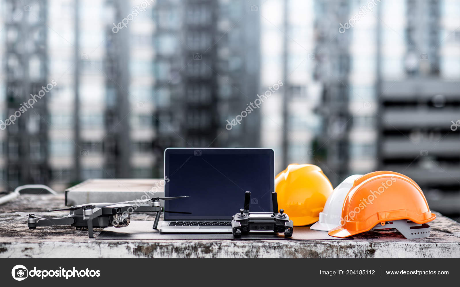 Drone Remote Control Laptop Computer Protective Helmet
