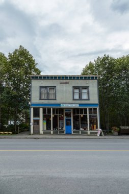 STEWART SEPTEMBER 2018: Stewart Public Library in Stewart, British Columbia