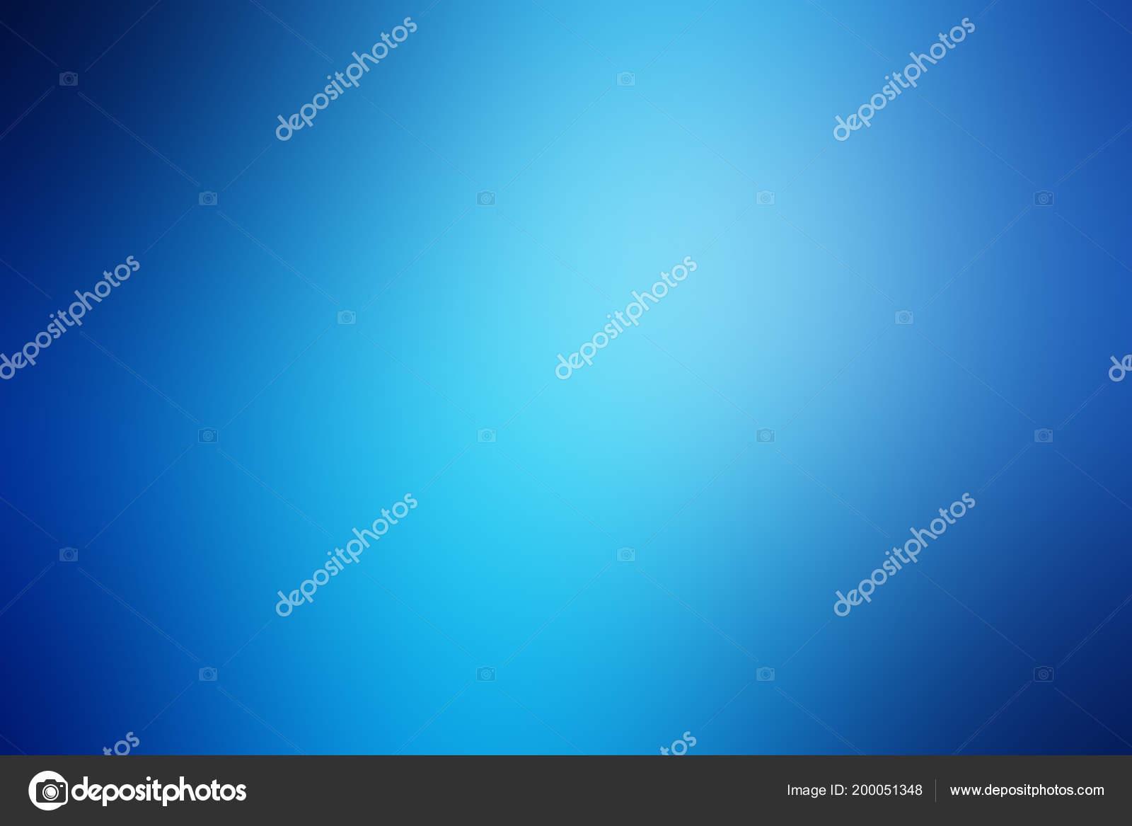 Light Blue Gradient Background Radial Effect Wallpaper Stock Photo