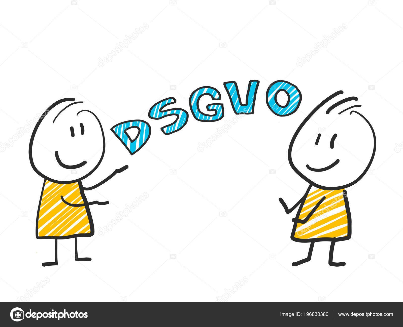 567bf7218 Homem de pau na frente Dsgvo letras. Regulamento de proteção de ...