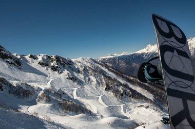 Ski resort Krasnaya Polyana in Sochi.