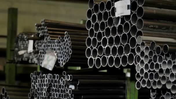 Potrubí průmyslové sklad na plán výroby