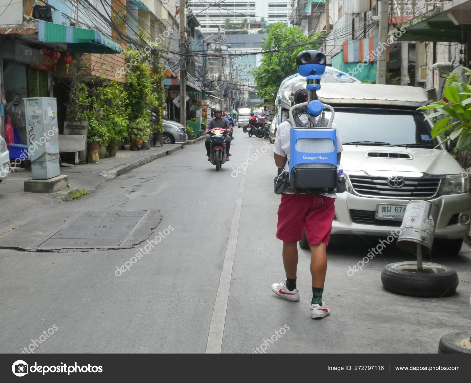 Bangkok Thailand May 2019 Officials Survey Google Company Used