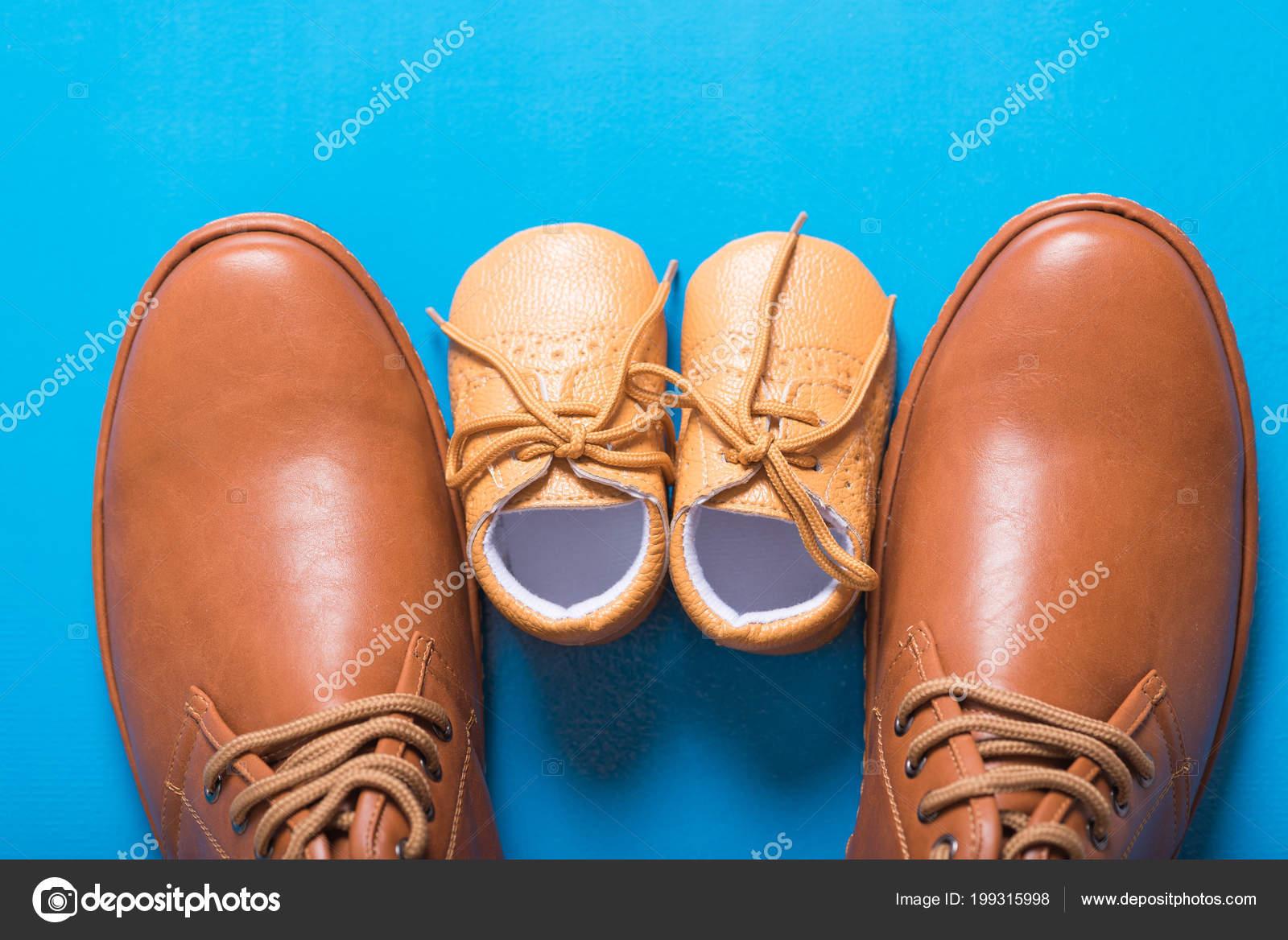 Chaussures Père Marron Bleu Fils Fond Sur v5rv0WaTp