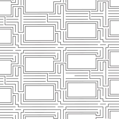 line geometric abstract pattern vector background design.