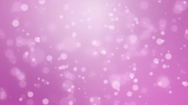Romantikus magenta rózsaszín izzó bokeh háttér lebegő fény részecskék.