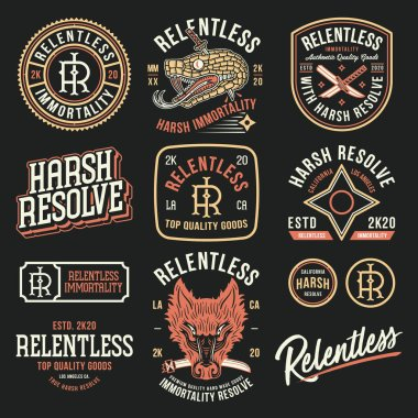 Relentless immortality starting pack colored designs icon