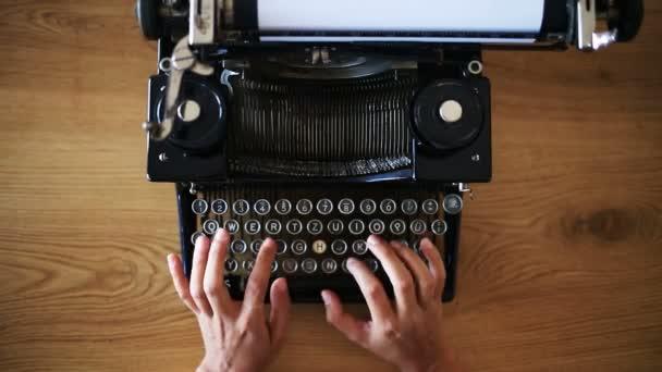 Gépelés a vintage írógépen