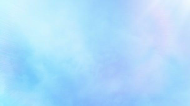 Lens Flare ragyogó kék ég a felhők felett