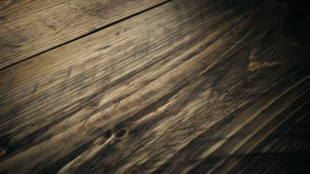 Přesun přes dřevo Closeup