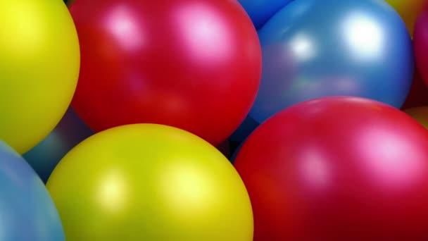 Předávání balony strana Closeup