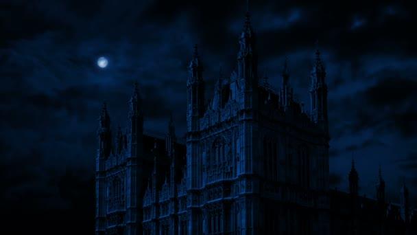 Parlamentsgebäude in der Nacht
