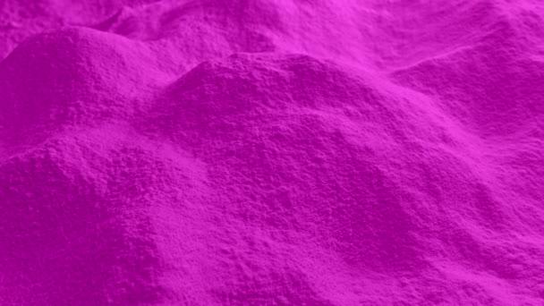 Přesun přes růžový prášek