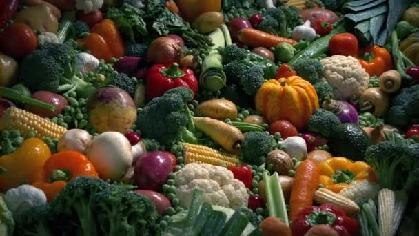 Dramatic Lighting Pile Of Vegetables