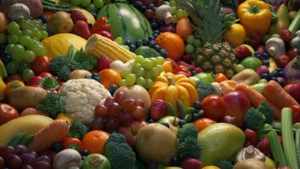 Ovoce a zelenina směs pohyblivá střela