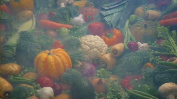 Hűtött Vapor több rakás zöldség