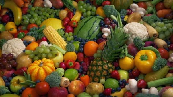 Koncepce zdravého ovocného a zeleninového konceptu