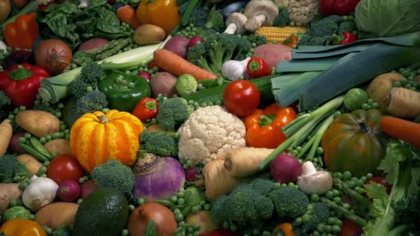 Massive elterjedése zöldség mozgó shot
