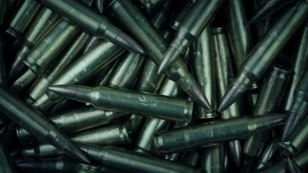 Sok Rifle golyók Macro shot