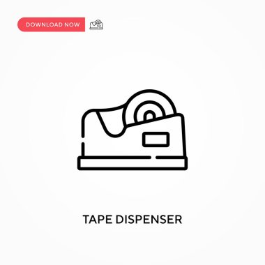Tape dispenser Simple vector icon. Modern, simple flat vector illustration for web site or mobile app icon