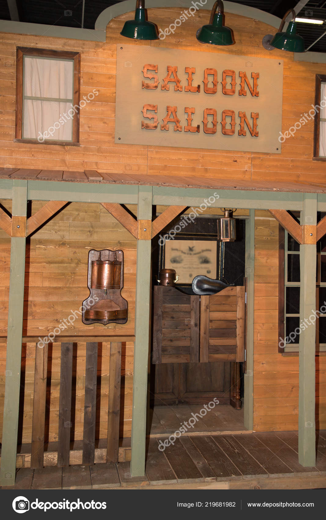 Old Wooden Saloon Western Wild West Usa — Stock Photo