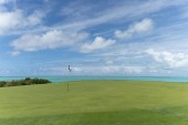 Nádherný výhled na golfové hřiště až k moři