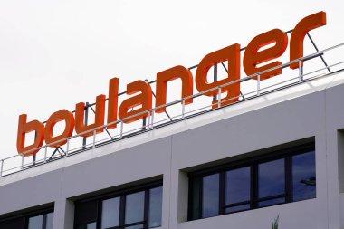 Bordeaux , Aquitaine / France - 09 23 2019 : Boulanger Logo shop French chain store of electronics technology appliances retailer