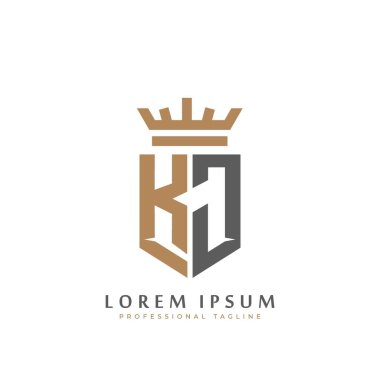 Kj Monogram Premium Vector Download For Commercial Use Format Eps Cdr Ai Svg Vector Illustration Graphic Art Design