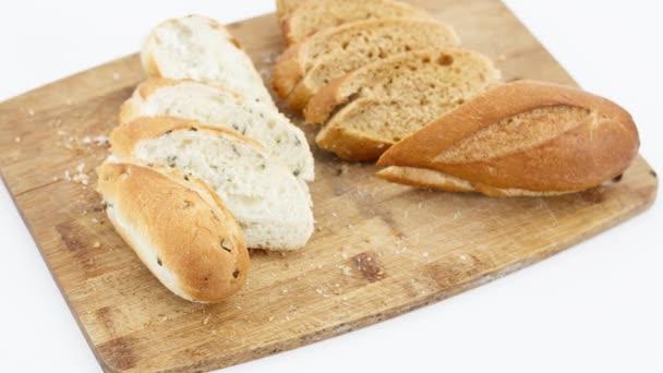 közeli kilátás ízletes friss kenyér választék