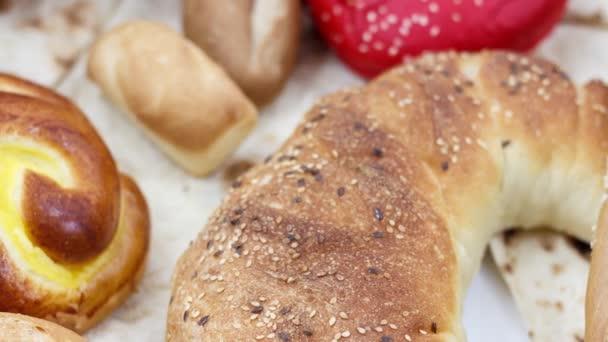 vynikající čerstvý pečený chléb v pekárně