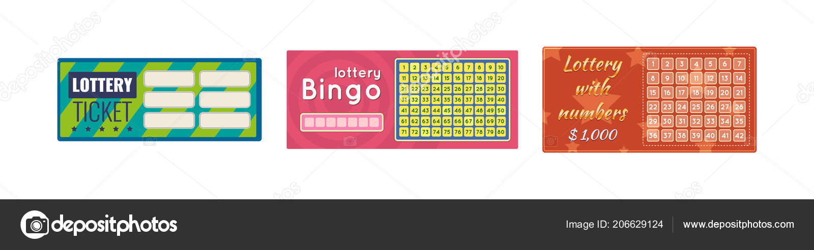 lottery tickets bingo lotto raffle of money and prizes tickets for event are monetary financial success economic growth lottery luck wellbeing