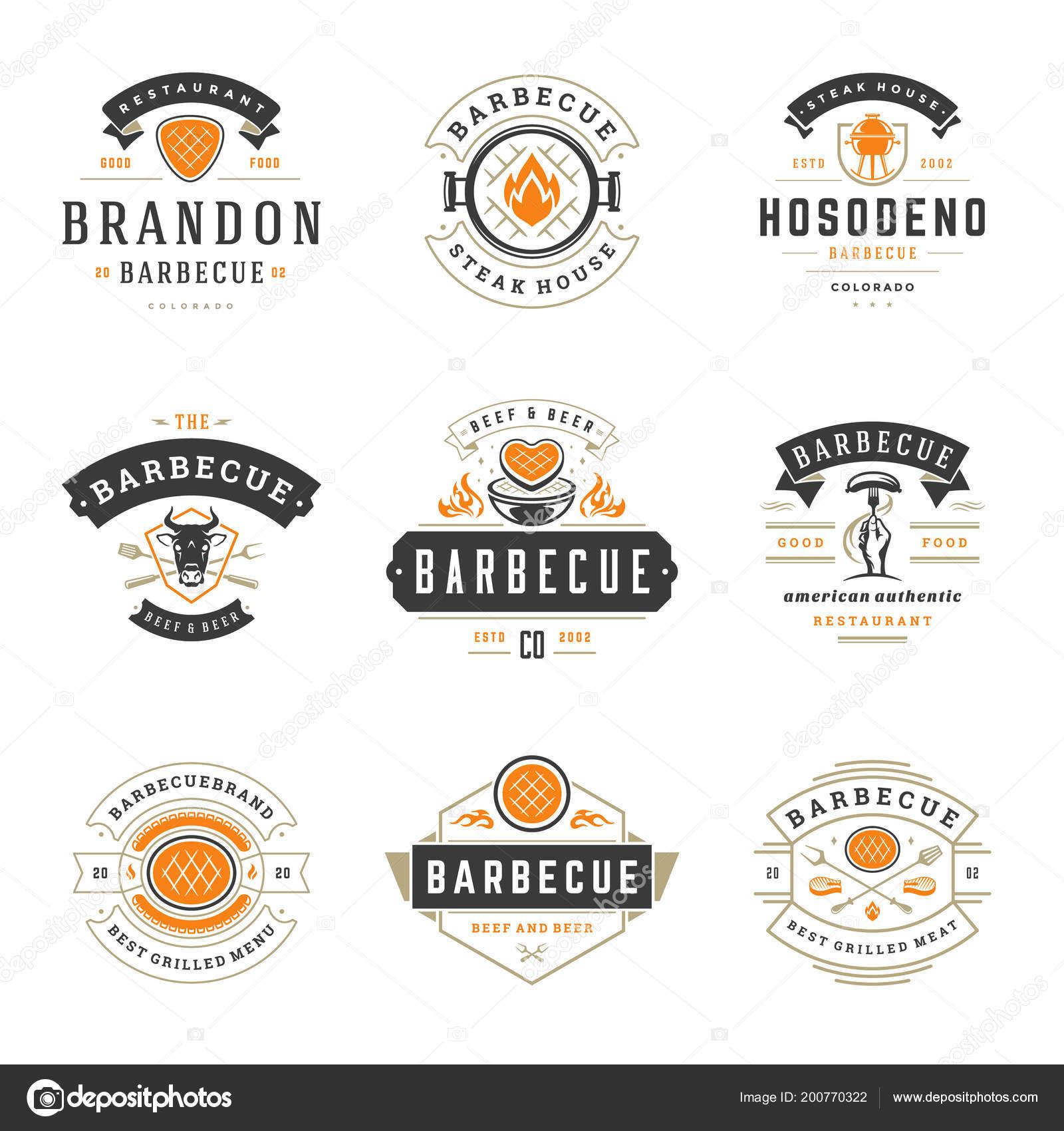 Restaurant Logos With A House Grill Restaurant Logos