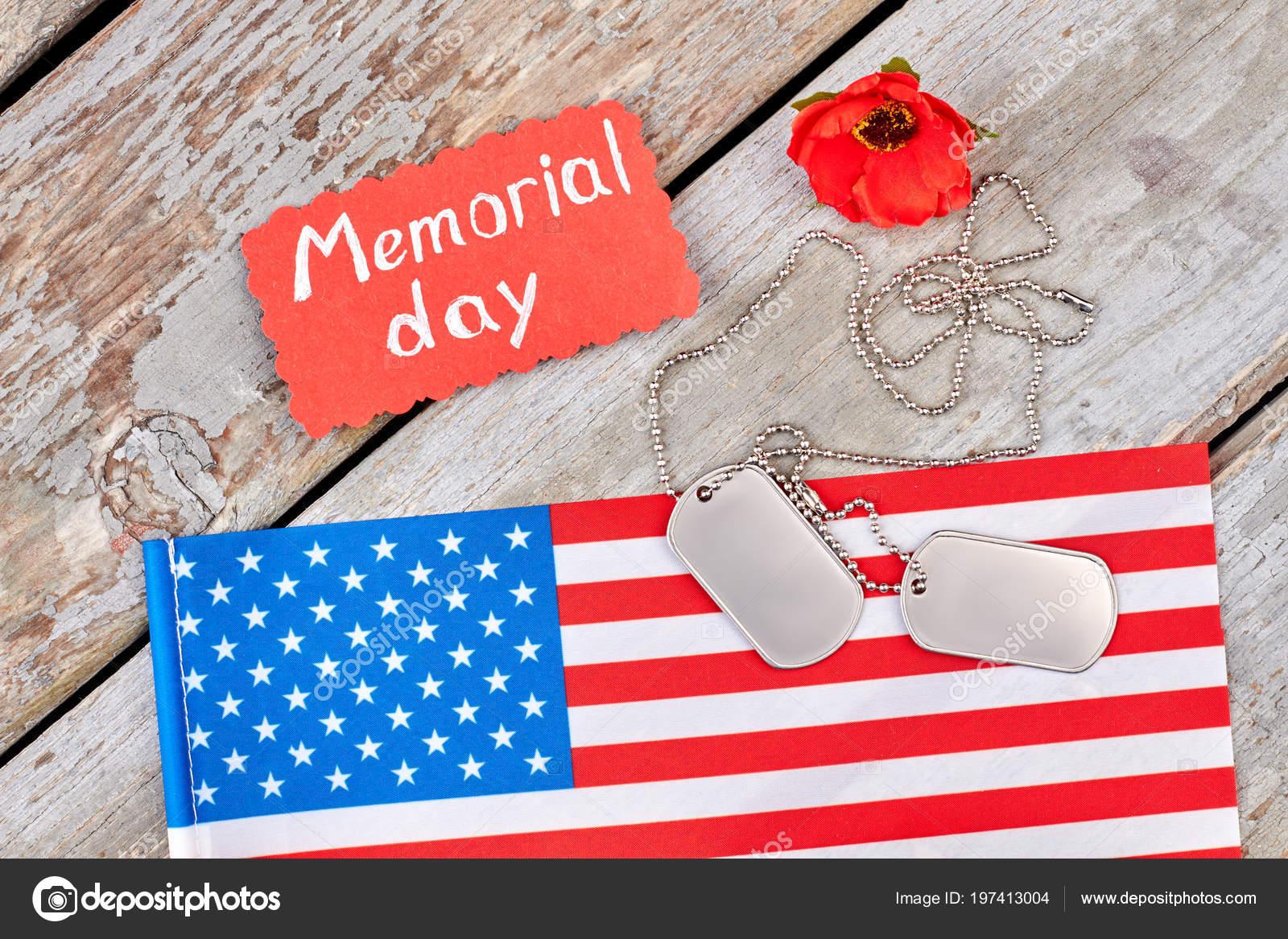 Symbols Of Memorial Day Stock Photo Denisfilm 197413004