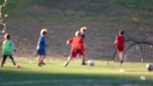 Děti na fotbalový trénink
