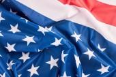 Fotografie United States of America flag close up.