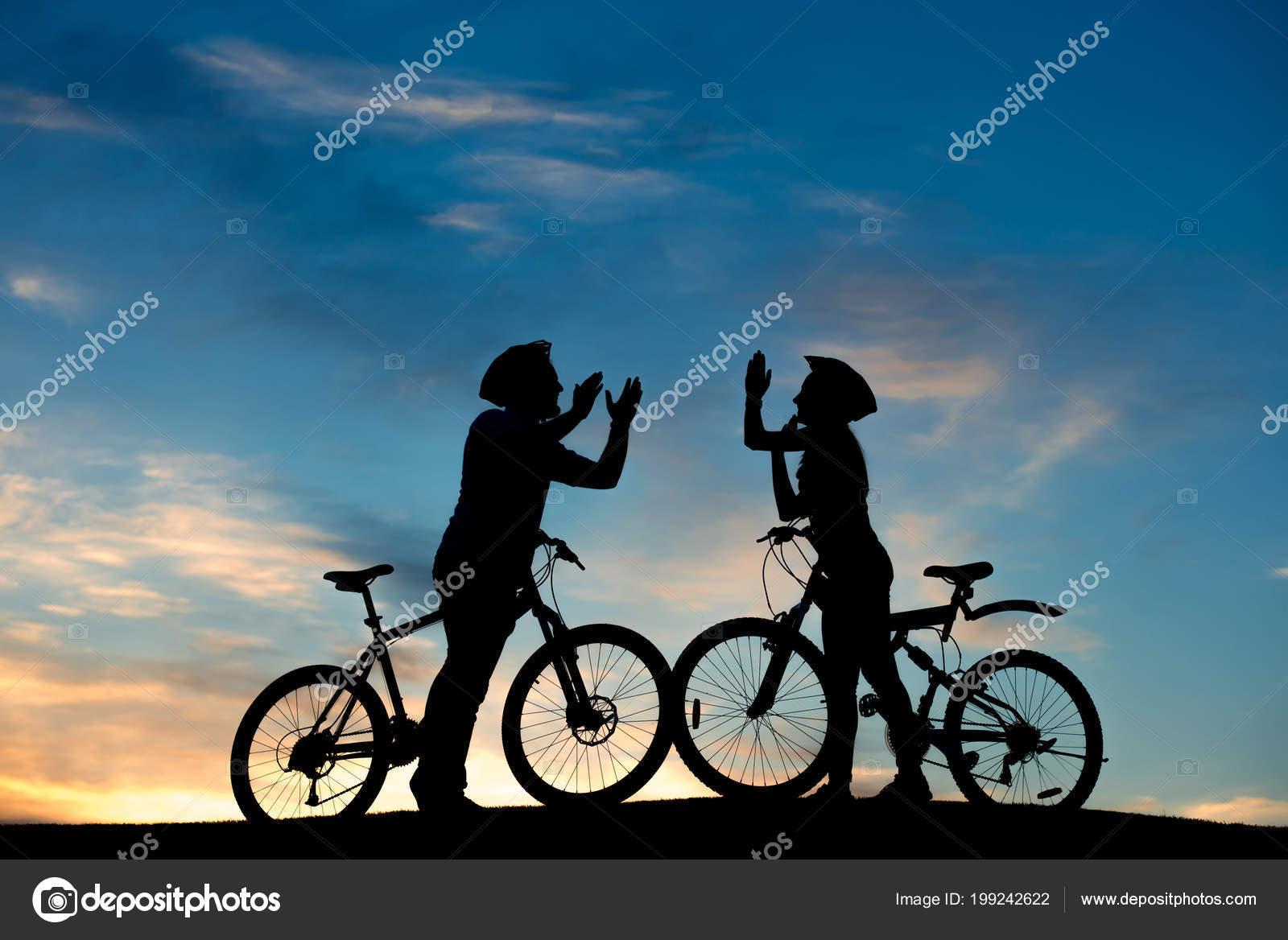 Ciclistas romanticos