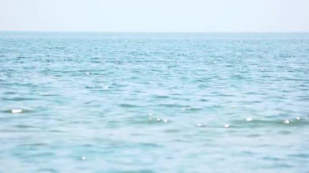 Klidné moře pozadí.