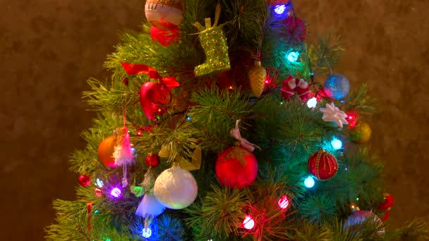lesklé vánoční hračky na nový rok strom