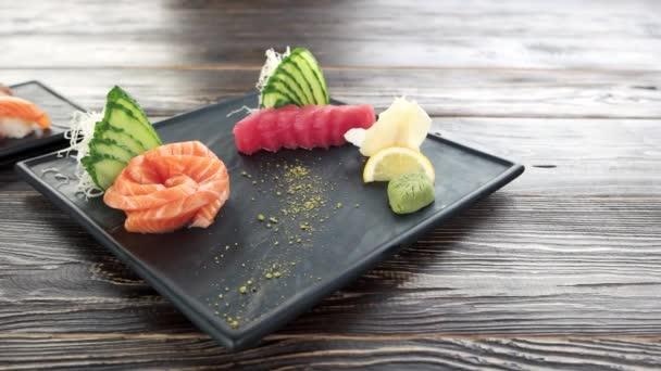 Sashimi a nigiri