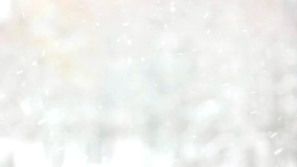 Elmosódott szürke téli háttér